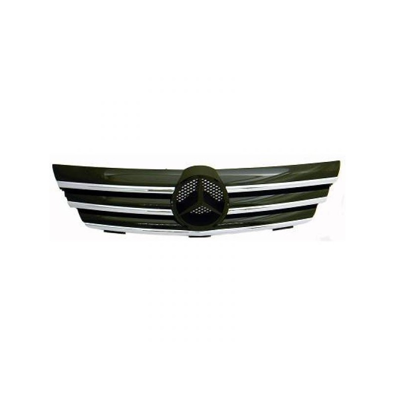 Calandre chrome/noir Mercedes C203 00-04 pour SPORTCOUPE