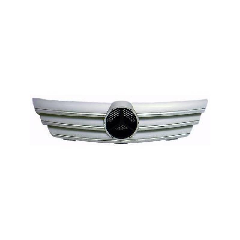Calandre chrome/argent Mercedes C203 00-04 pour SPORTCOUPE