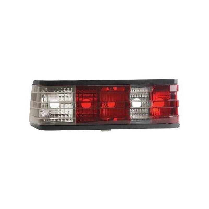 Feux arrières rouge/blanc Mercedes W201 82-93