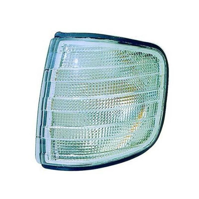 Clignotant droit (PASSAGER) MERCEDES W126 1980 à 1991 blanc