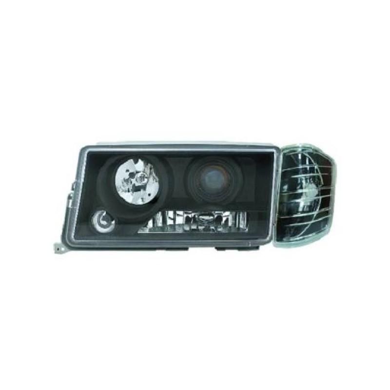 Phares design noir Mercedes W201 82-93