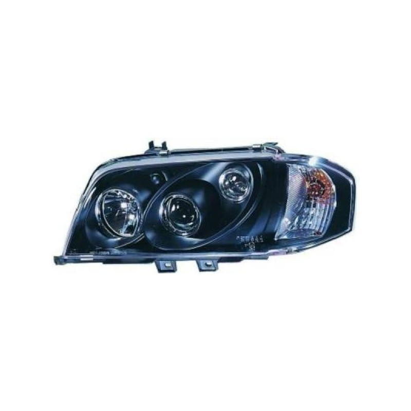 Phares angel eyes noir . DE CELIS Mercedes W202 93-00