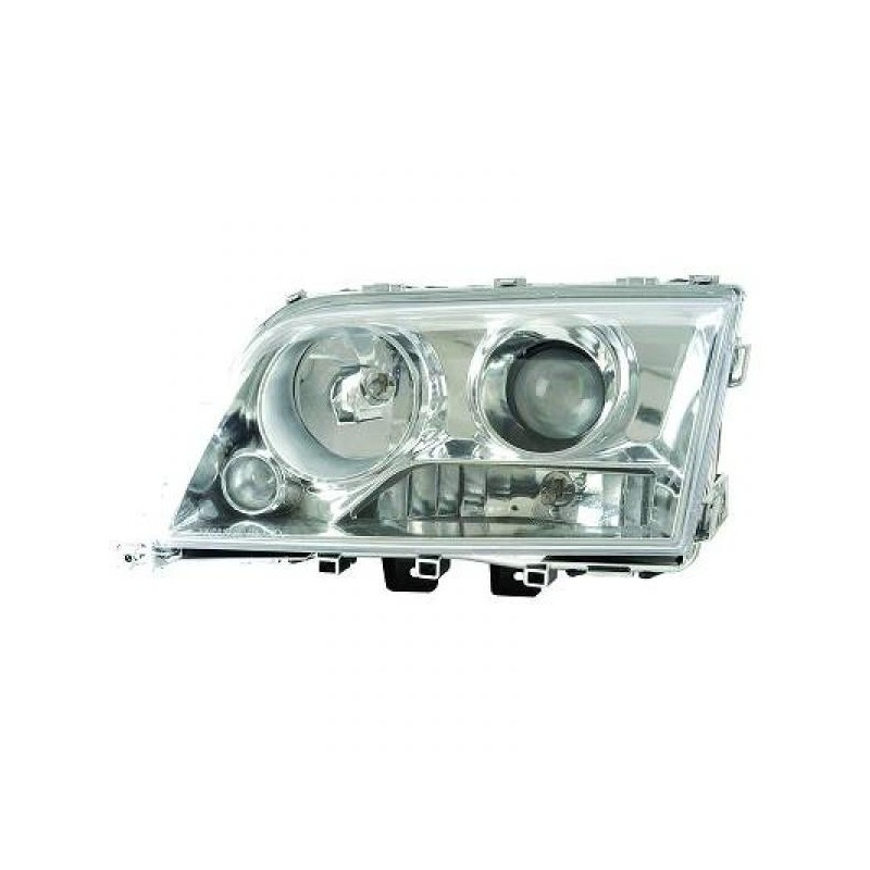 Phares design chrome Mercedes W202 93-00