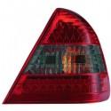 Feux arrières rouge/noir LED Mercedes W202 93-00