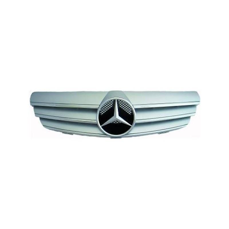 Calandre chrome/argent Mercedes W209 apres 2002