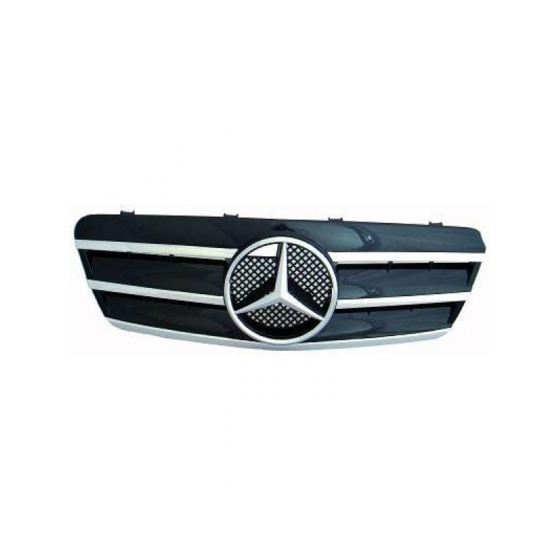 Calandre chrome/noir Mercedes W208 97-02