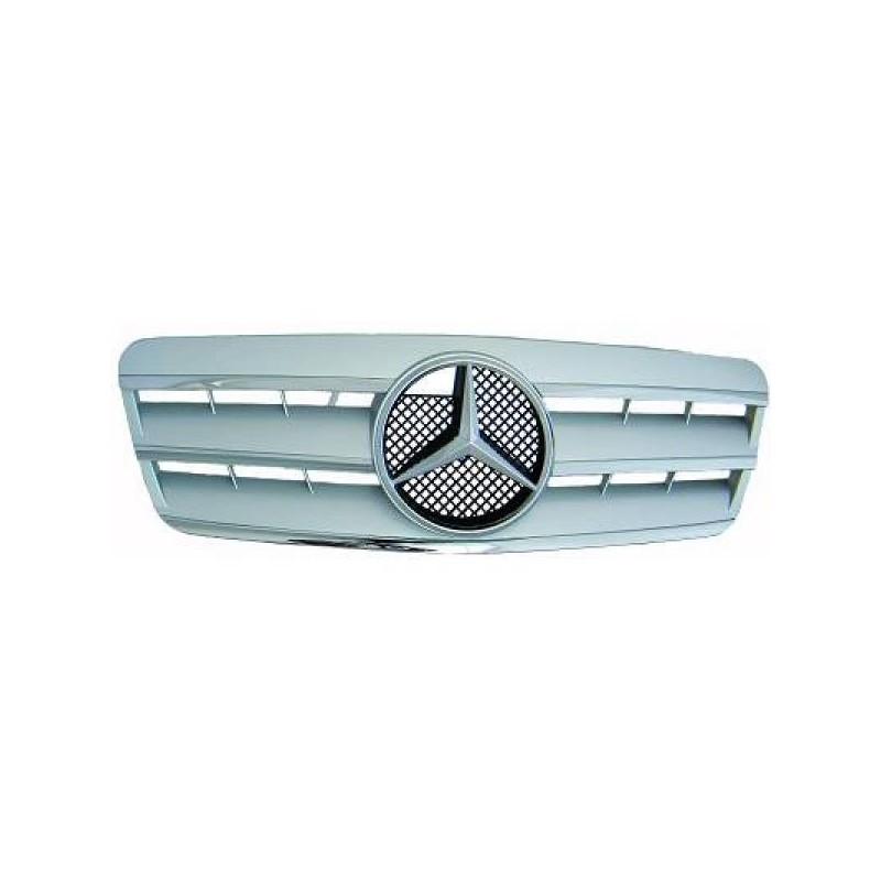 Calandre chrome/argent Mercedes W208 97-02