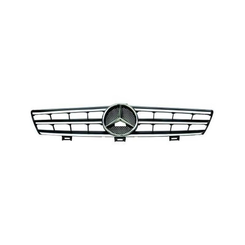 Calandre CLS Mercedes W219 04-10 chrome/noir