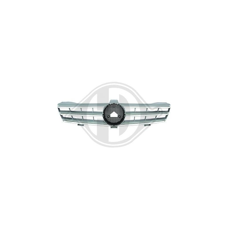 Calandre Mercedes W219 04-10 chrome/argent SPORTLOOK AMG OPTIK
