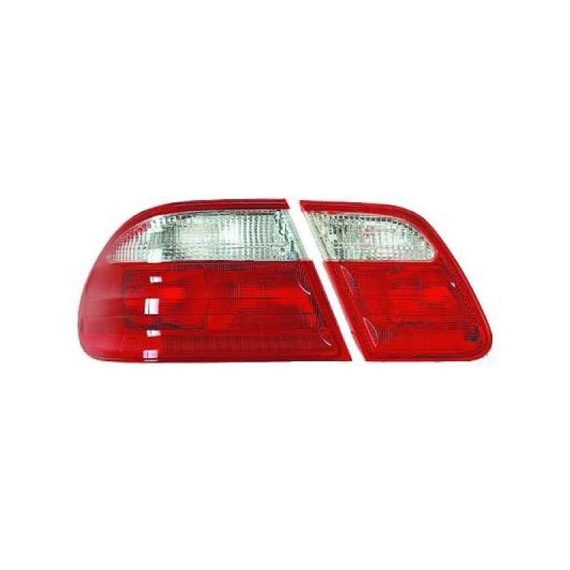 Feux arrières rouge/blanc Mercedes W210 95-99 pour Berline