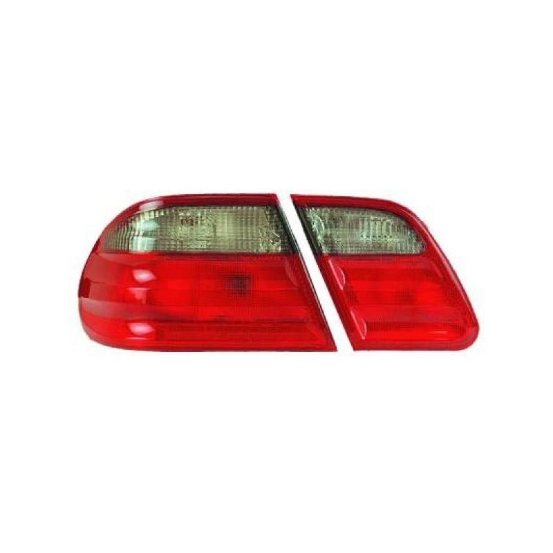Feux arrières rouge/gris Mercedes W210 Berline 95-99 pour Berline