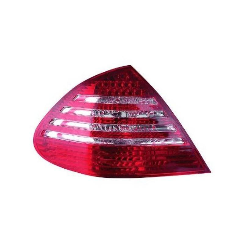 Feux arrières rouge/blanc LED Mercedes W211 02-06