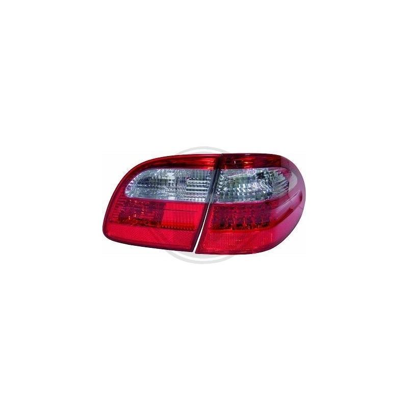 Feux arriere LED Mercedes E220-500 W211 02-06 ROUGE-BLANC