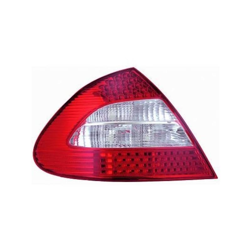 Feux arrières LED rouge-blanc Mercedes W211 apres 2002