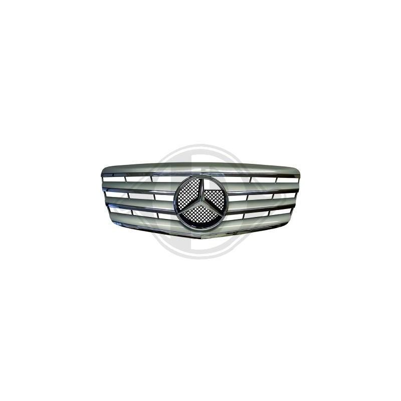 Calandre Mercedes W211 06-09 chrome/argent LOOK SPORT