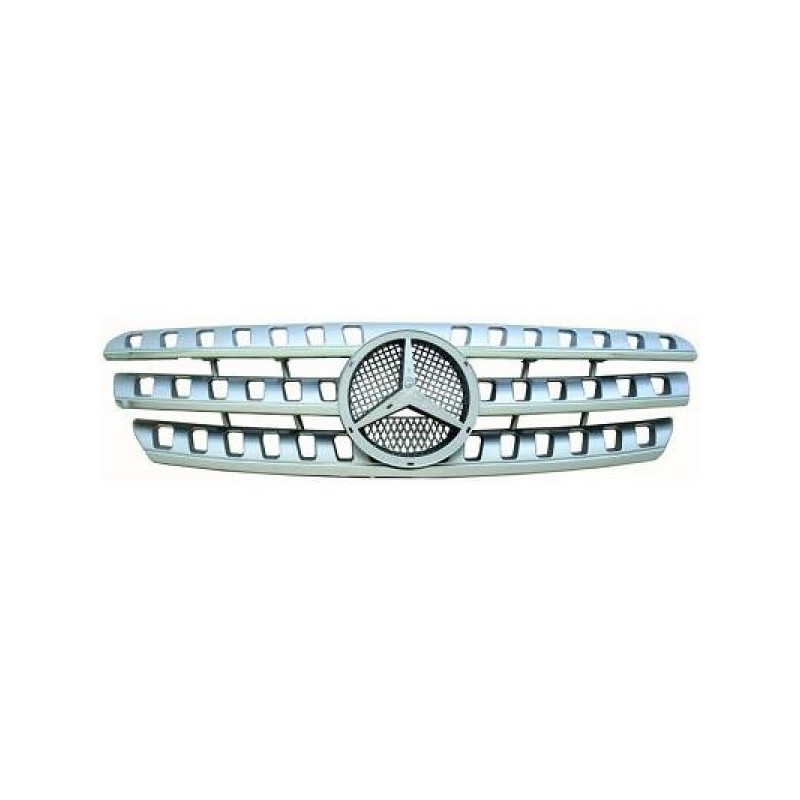 Calandre argent/chrome Look Mercedes W164 DB apres 98