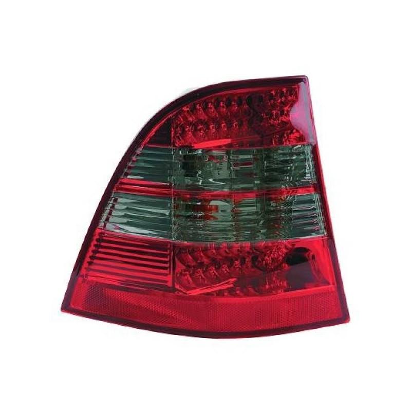 Feux arrières rouge/gris LED Mercedes W163 98-06
