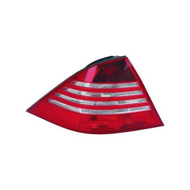 Feux arrières rouge/blanc LED Mercedes W220 98-05 LED