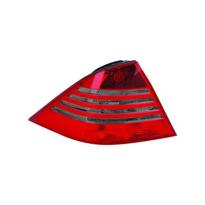 Feux arrières rouge/noir LED Mercedes W220 98-05