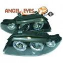 Phares angel eyes noir . Audi A4 99-01