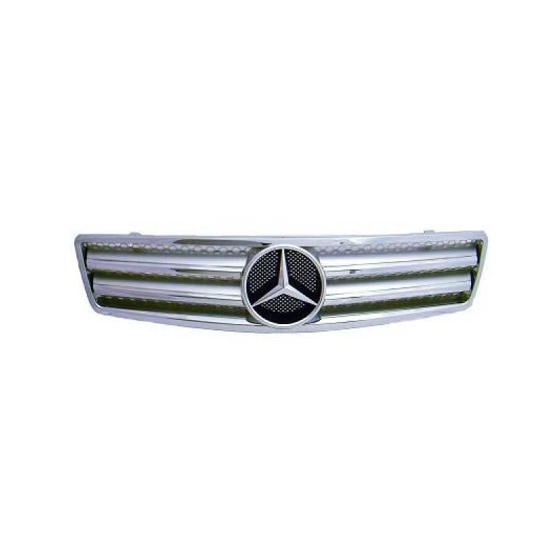 Calandre chrome/argent Mercedes W129 89-98