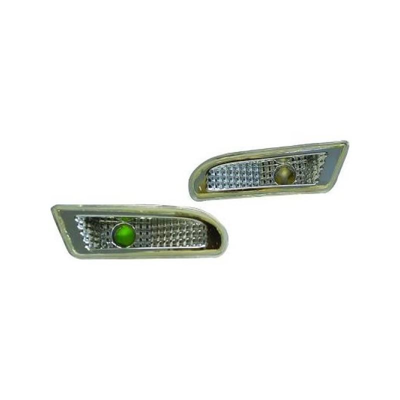 Clignotant design cristal/chrome Mercedes SLK 96-00