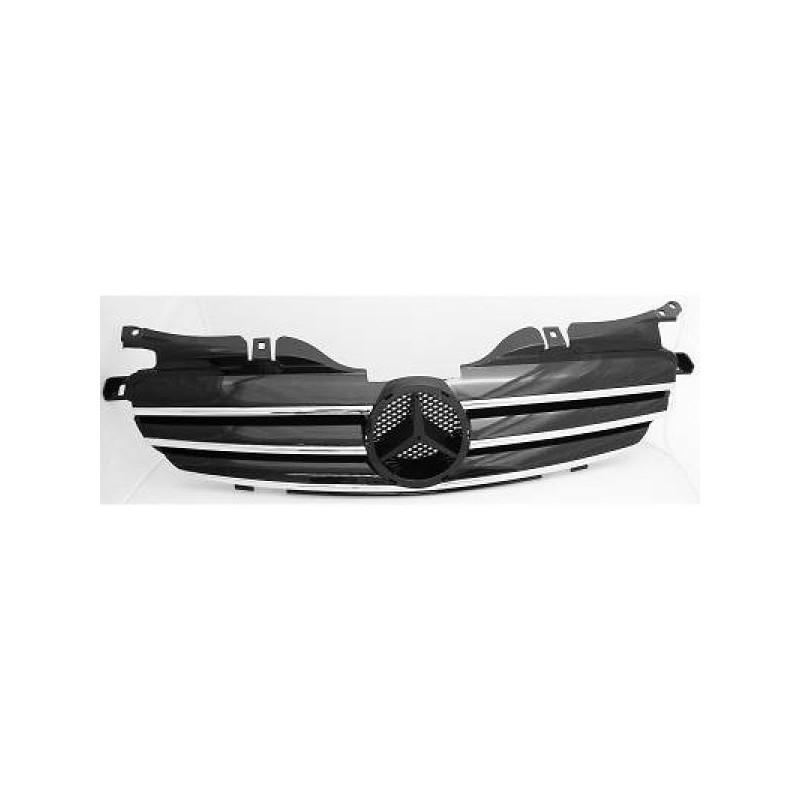 Calandre chrome/noir Mercedes R170 apres 1996