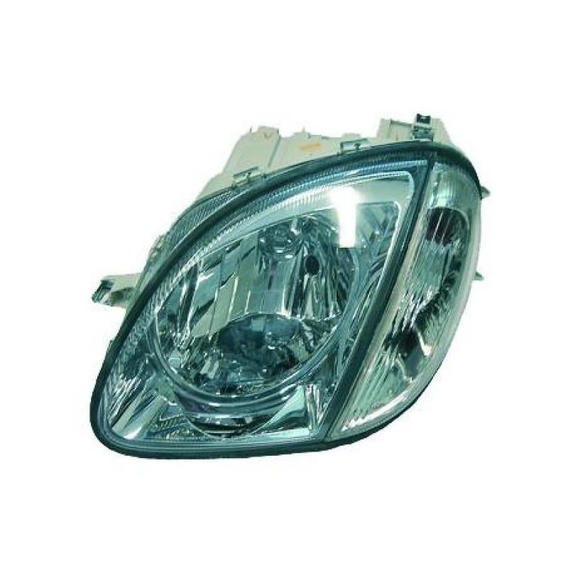 Phares design chrome Mercedes SLK R170 96-04