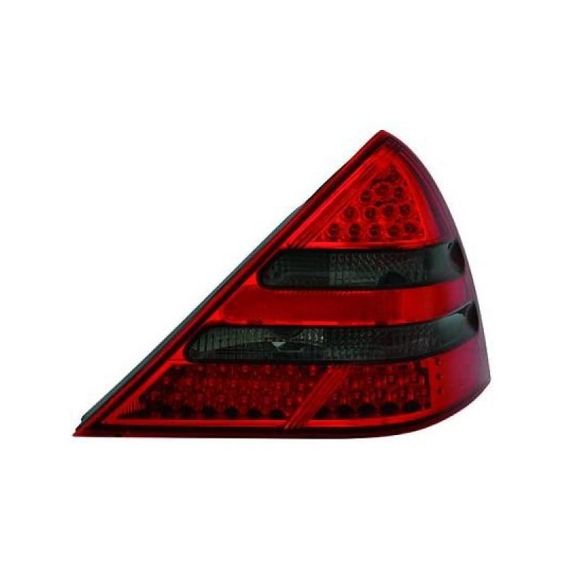 Feux arrières LED rouge-noir Mercedes R170 96-04