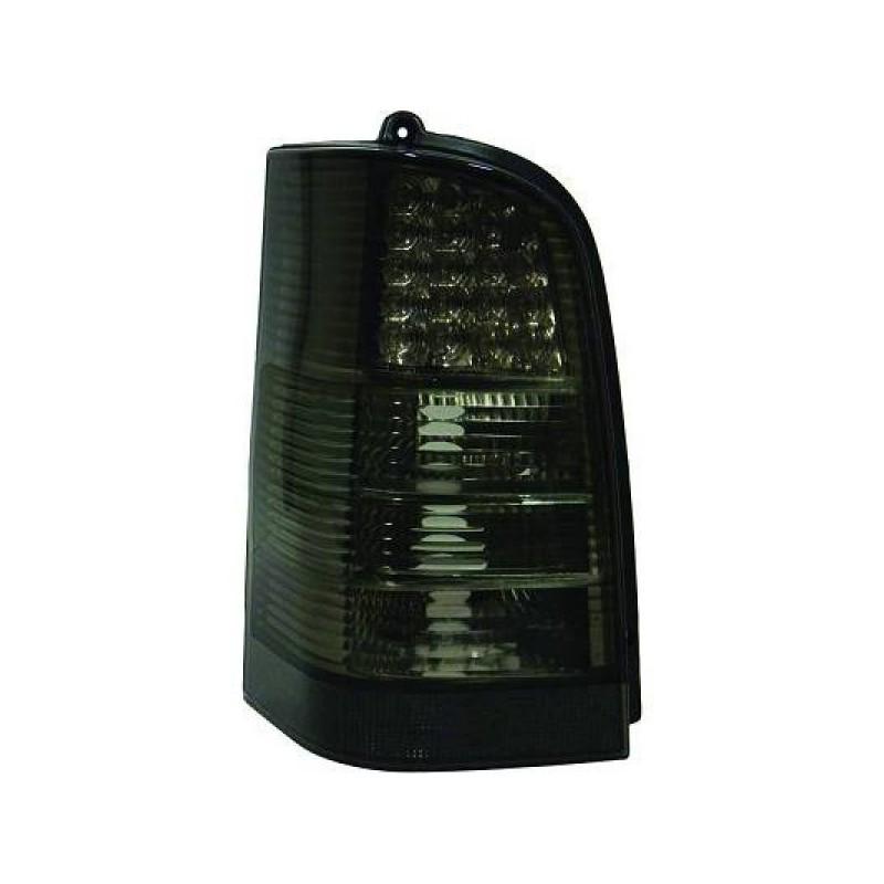Feux arriere Mercedes W638 95-03 pour VITO LED cristal/fumé