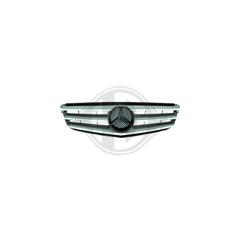calandre Mercedes Avantgarde W204 apres 2007 chrome/argent