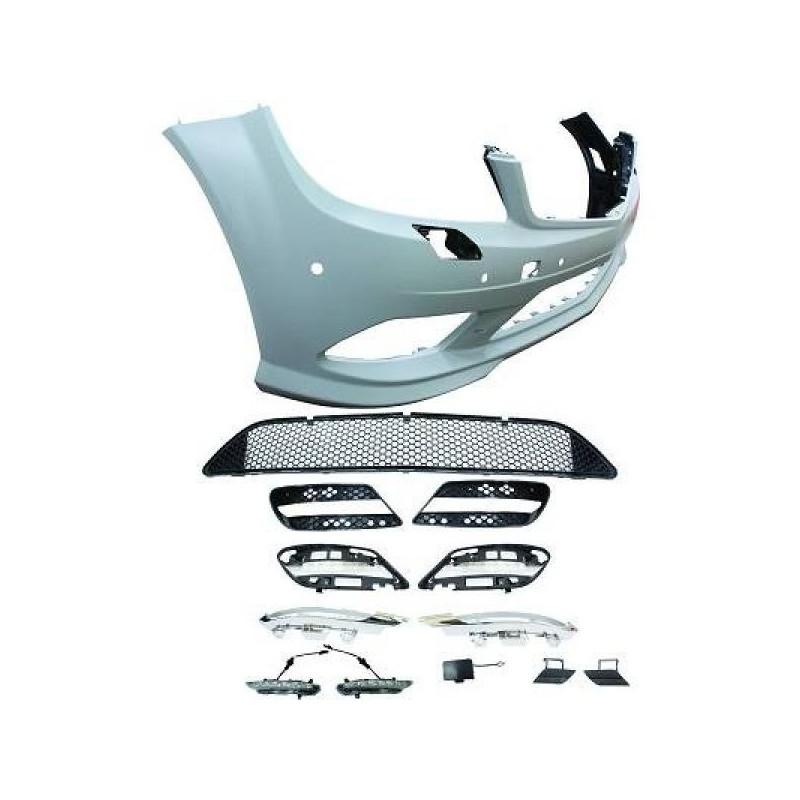 Pare-chocs avant design Mercedes W204 07-11 pdc