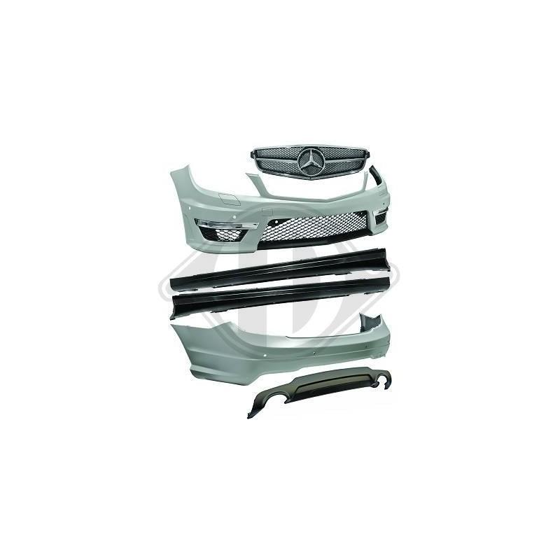 Pare-chocs avant/arriere kit Mercedes W204 apres 2011
