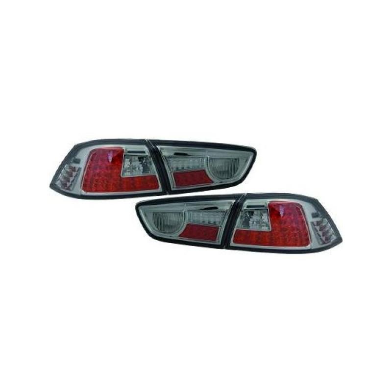 Feux arrières fumé LED Mitsubishi LANCER apres 2008