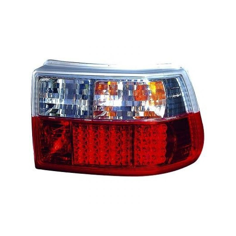 Feux arrières rouge/blanc LED Opel ASTRA F 3/5-portes 91-98