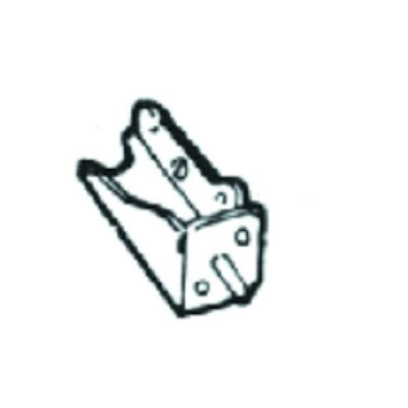 Support Pare-chocs avant gauche VW PASSAT 1993 à 1996