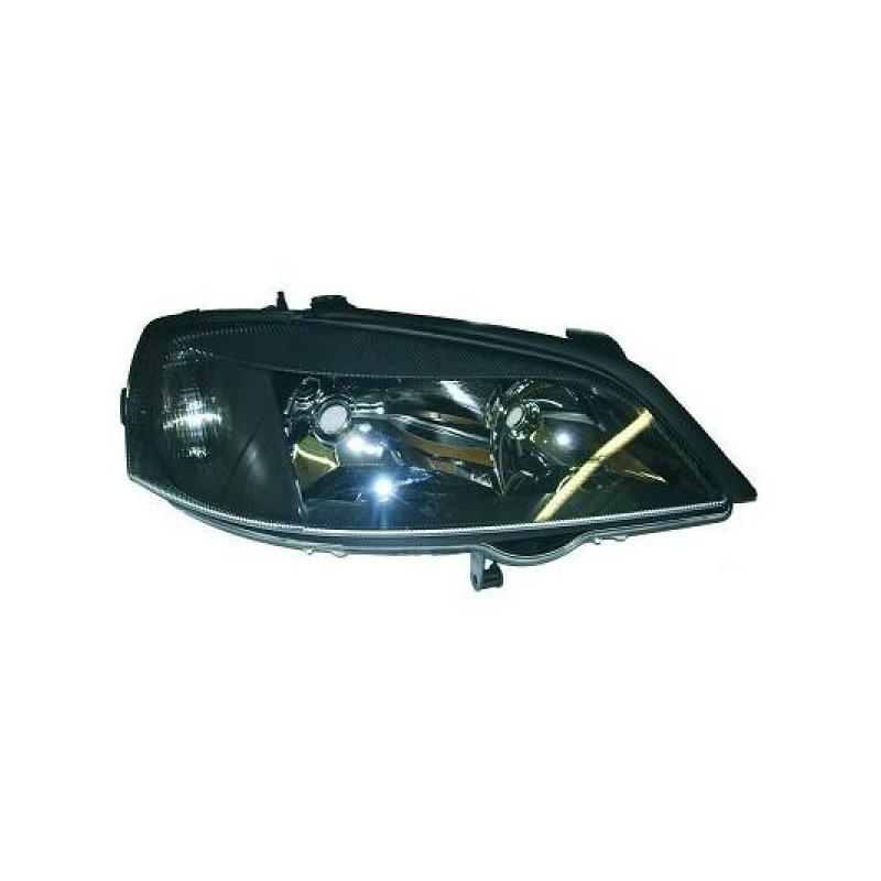 Phare design Droit noir Opel ASTRA 97-04