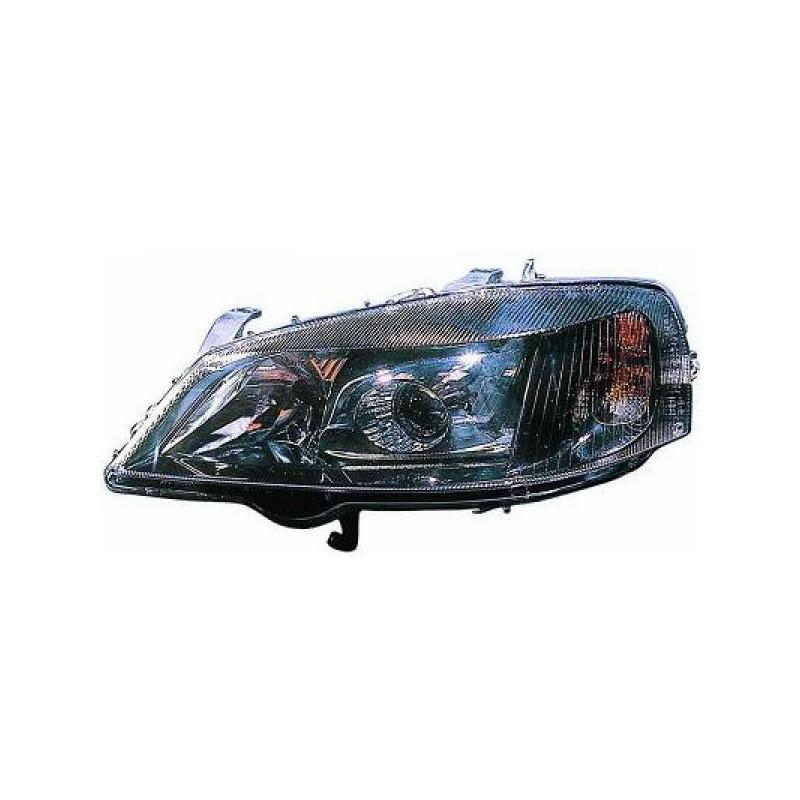 Phares design noir Opel ASTRA 97-04