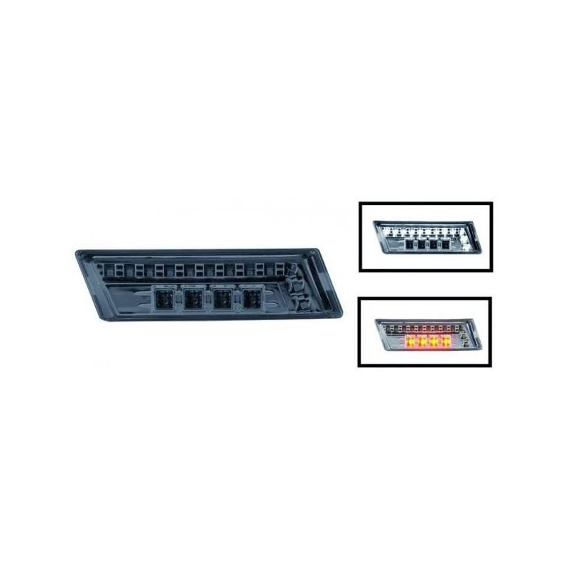 Répétiteur design LED/noir avec diurnes AUDI A4 04-07
