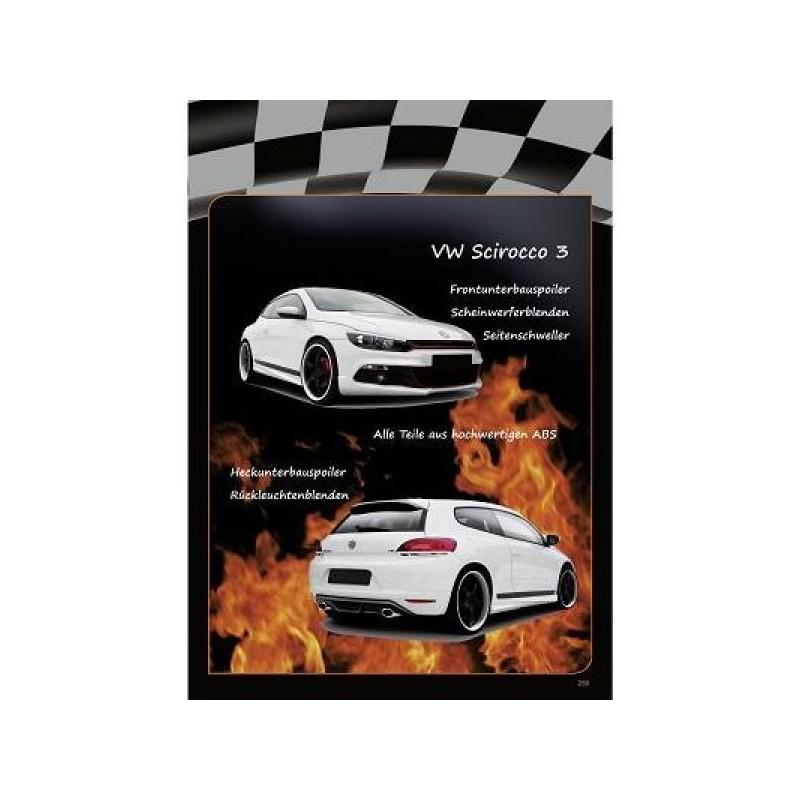 Spoiler avant VW SCIROCCO à partir de 2008