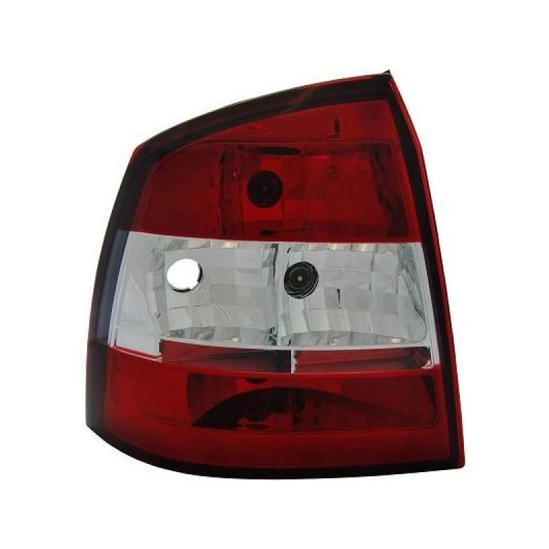 Feux arrières rouge/blanc Opel ASTRA 3/5-portes 97-04