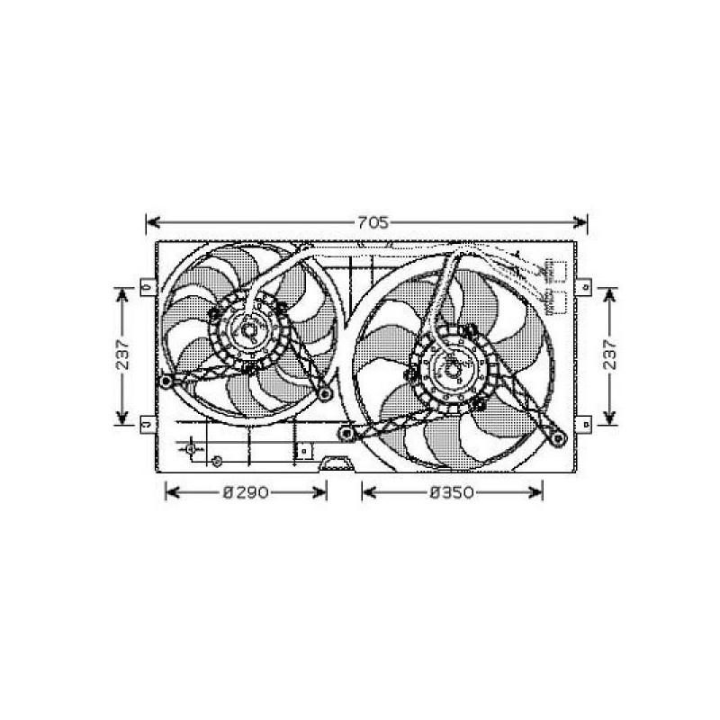 Electro-ventilateur double BEETLE à partir de 1999