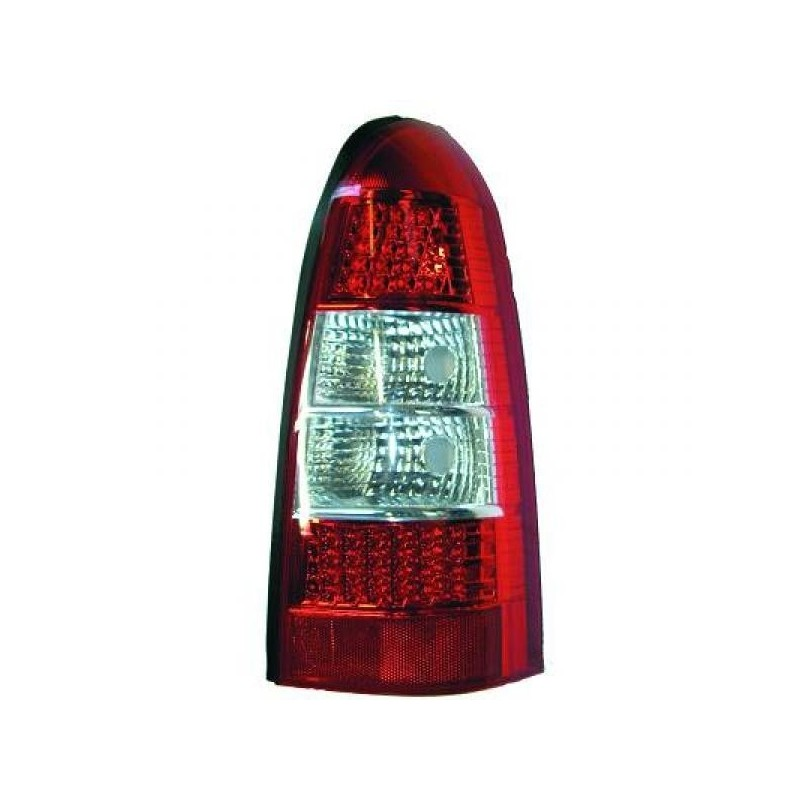 Feux arrières LED rouge-blanc Opel ASTRA G BREAK 97-04