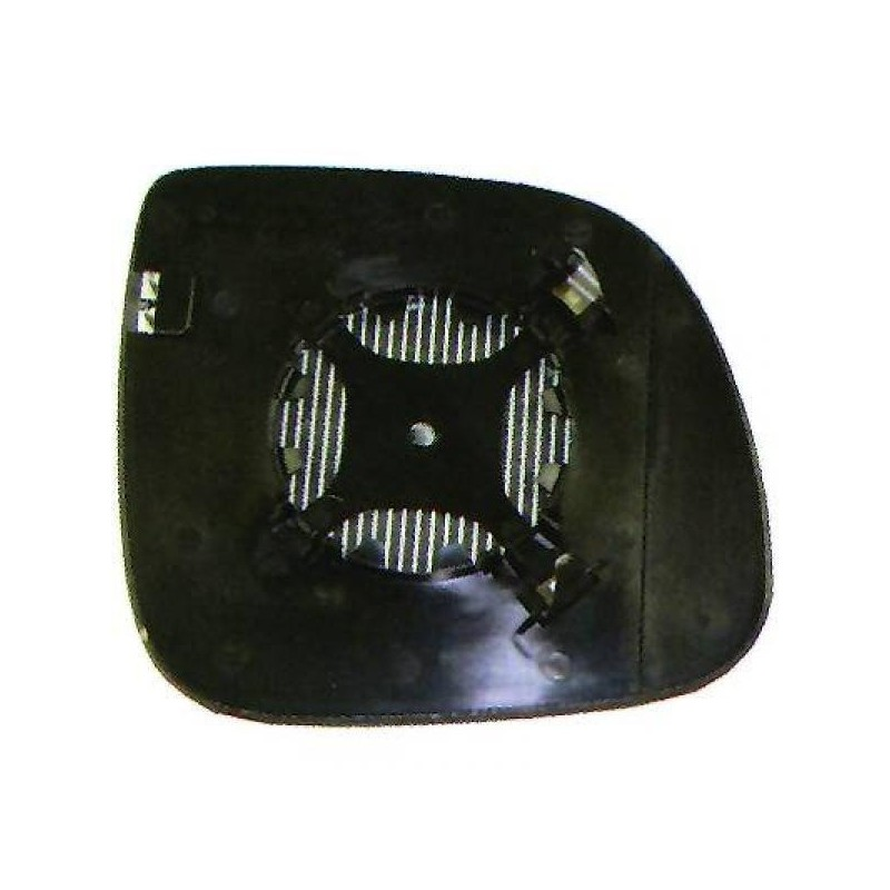 Glace Rétroviseur ext. droit (PASSAGER) VW T5 à partir de 2010