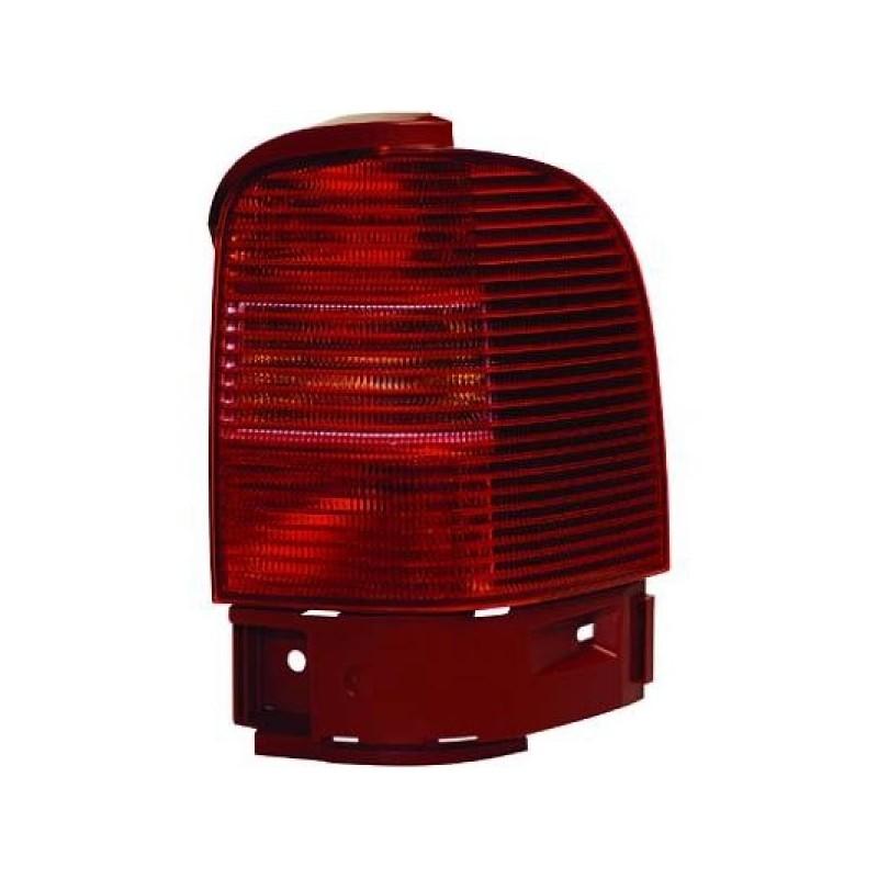 Feu arrière gauche (CONDUCTEUR) ext. VW SHARAN 2000 à 2003 rouge à rose
