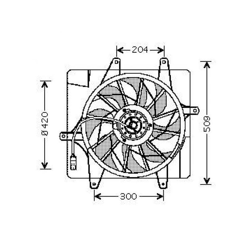 Motoventilateur CRUISER 2000 à 2005