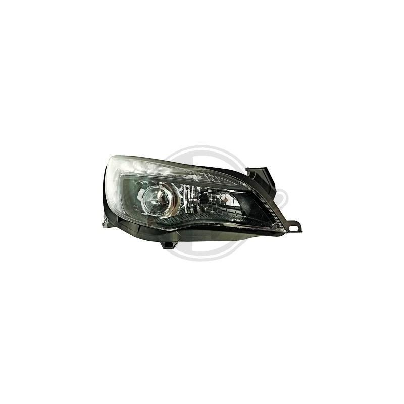 Phares avant LED Opel Astra J apres 2009 noir