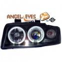 Phares angel eyes noir Audi A4 00-04