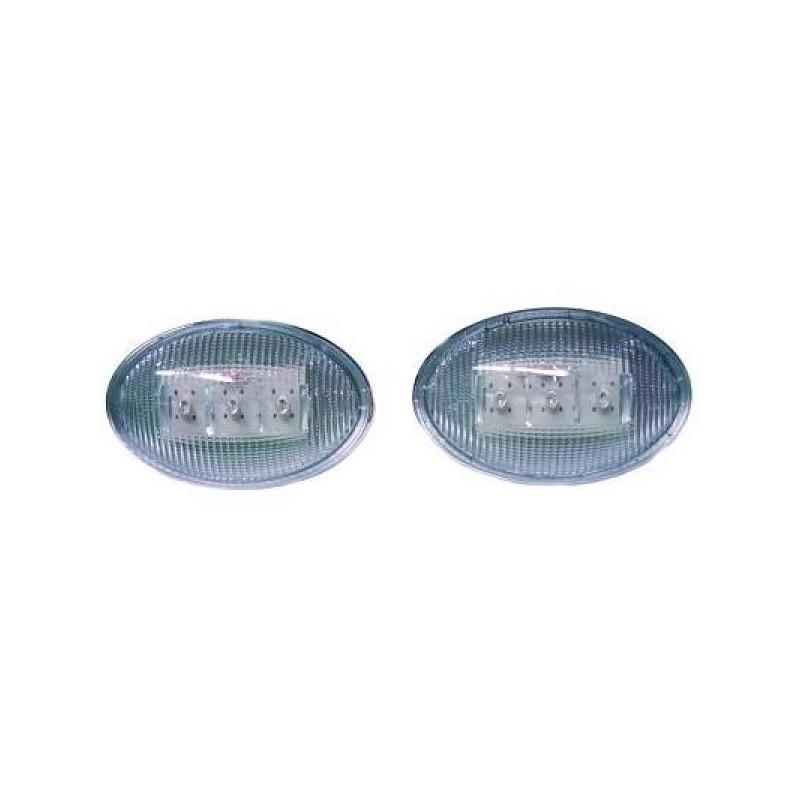 Répétiteur Clignotant LED chrome Opel CORSA apres 1993