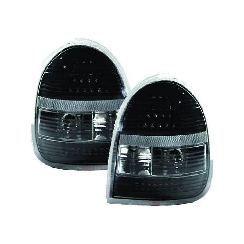 Feux arrières LED noir Opel CORSA B - 3-portes 93-00